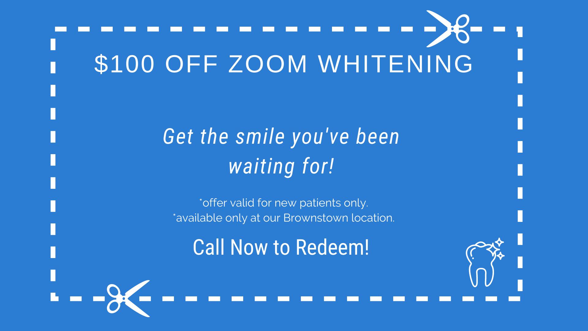100 zoom whitening