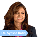 Dr. Ayesha Rafiq - Dentist Bio Image - Size 125X125